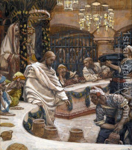 Weddding at Cana by James Jacques Joseph Tissot - Reproduction Oil Painting