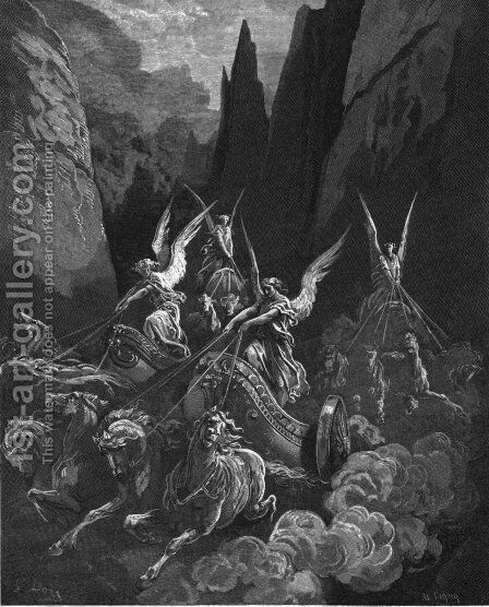 Zechariah by Gustave Dore - Reproduction Oil Painting