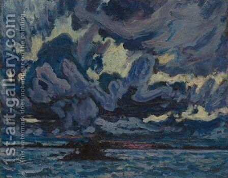 Wind Clouds by James Edward Hervey MacDonald - Reproduction Oil Painting