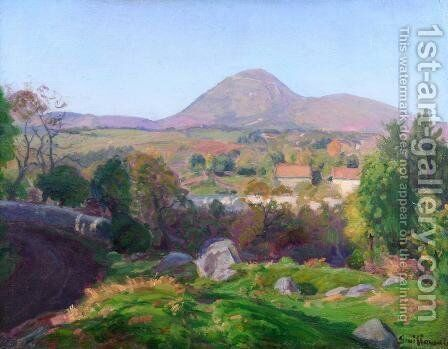 Landscape of Puy de Dome by Armand Guillaumin - Reproduction Oil Painting