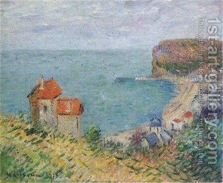 Fecamp 2 by Gustave Loiseau - Reproduction Oil Painting