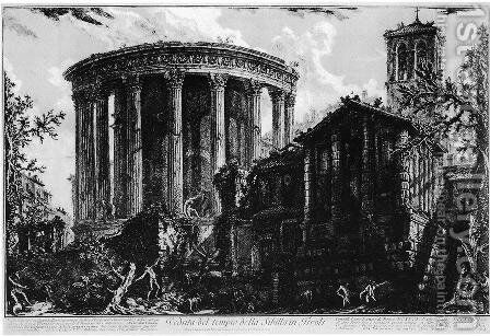Vedute di Roma 31 by Giovanni Battista Piranesi - Reproduction Oil Painting