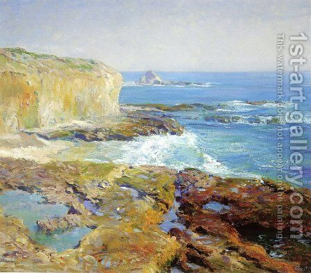 Laguna Rocks, Low Tide by Guy Rose - Reproduction Oil Painting