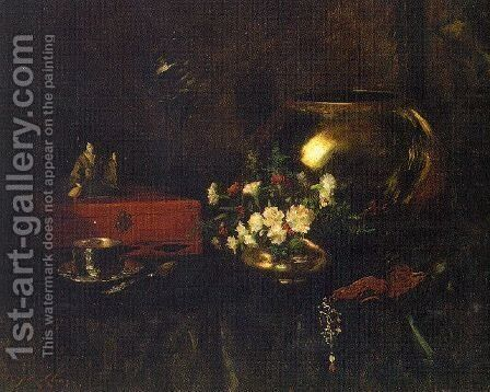 Unknown 2 by William Merritt Chase - Reproduction Oil Painting