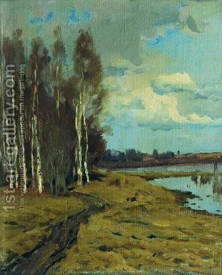 Landscape 3 by Isaak Ilyich Levitan - Reproduction Oil Painting