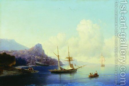 Gurzuf by Ivan Konstantinovich Aivazovsky - Reproduction Oil Painting