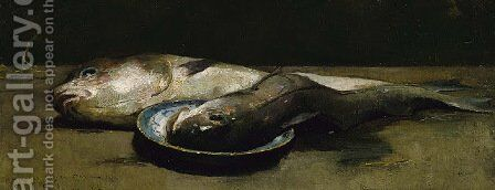 Haddock by Emil Carlsen - Reproduction Oil Painting