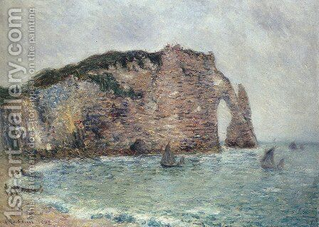 Etretat 2 by Gustave Loiseau - Reproduction Oil Painting