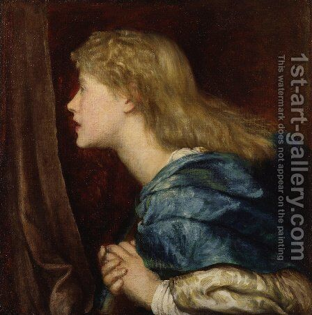 Dame (Alice) Ellen Terry by George Frederick Watts - Reproduction Oil Painting