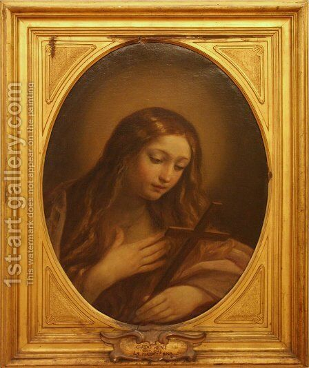 Penitent Magdalene by Guido Reni - Reproduction Oil Painting