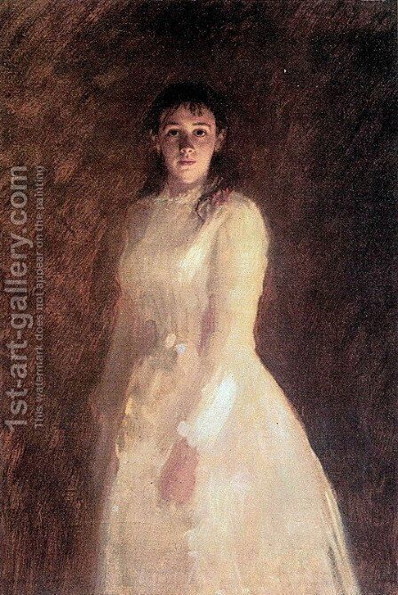 Portrait of a Woman 2 by Ivan Nikolaevich Kramskoy - Reproduction Oil Painting
