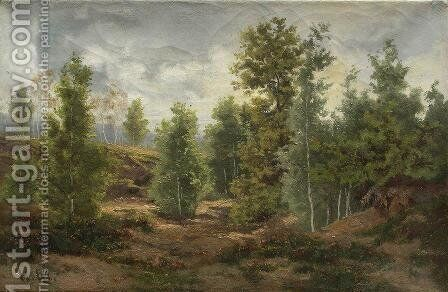 Edge of the Forest 3 by Ivan Shishkin - Reproduction Oil Painting