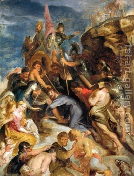 Carrying the Cross by Rubens - Reproduction Oil Painting
