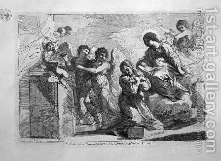 St. Teresa with Child Jesus by Giovanni Battista Piranesi - Reproduction Oil Painting