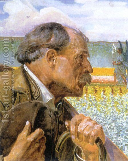 Three heads, hope by Jacek Malczewski - Reproduction Oil Painting