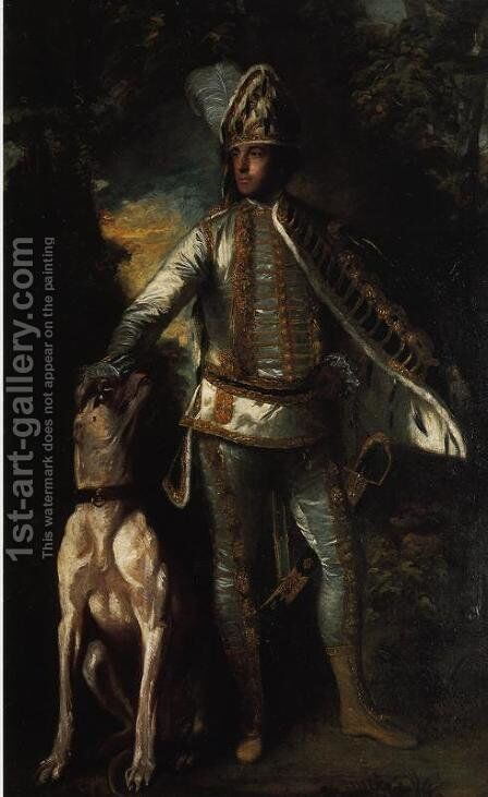 Peter Ludlow by Sir Joshua Reynolds - Reproduction Oil Painting