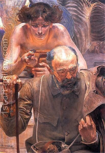 Finis Poloniae by Jacek Malczewski - Reproduction Oil Painting