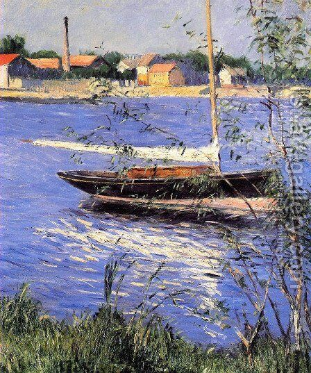 Unknown 3 by Gustave Caillebotte - Reproduction Oil Painting