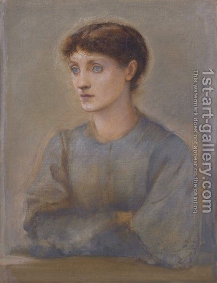 Margaret by Sir Edward Coley Burne-Jones - Reproduction Oil Painting