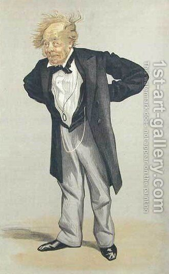 Statesmen No.1230 Caricature of The Rt Hon CP Villiers M.P. by James Jacques Joseph Tissot - Reproduction Oil Painting