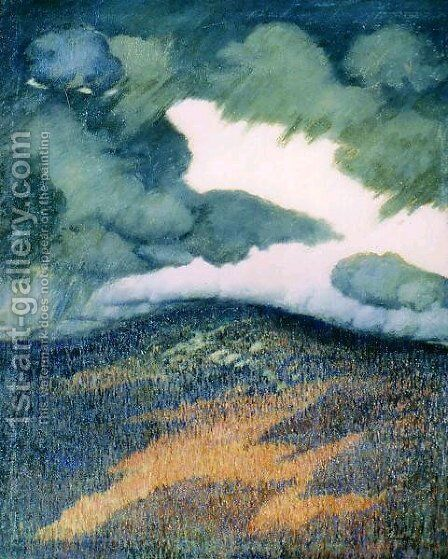 Storm Clouds, Maine by Marsden Hartley - Reproduction Oil Painting