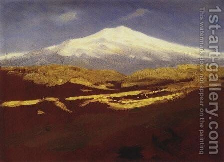 Elbrus in the daytime by Arkhip Ivanovich Kuindzhi - Reproduction Oil Painting