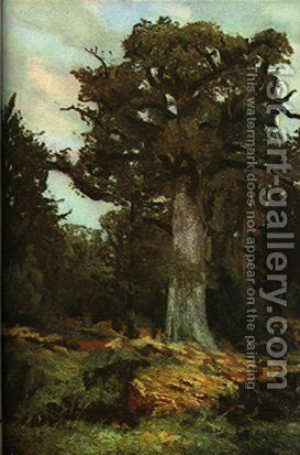 The Oak by Ion Andreescu - Reproduction Oil Painting