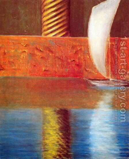 Rex I by Mikolajus Ciurlionis - Reproduction Oil Painting