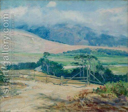 Carmel Hills by Guy Rose - Reproduction Oil Painting