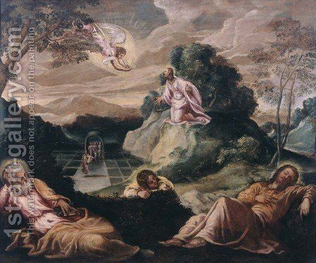 Unknown 2 by Jacopo Tintoretto (Robusti) - Reproduction Oil Painting