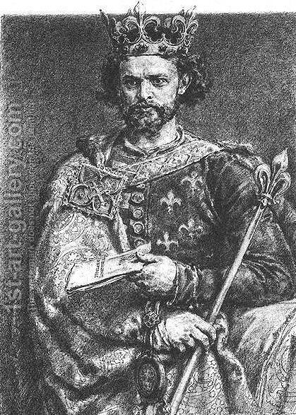Louis the Hungarian by Jan Matejko - Reproduction Oil Painting