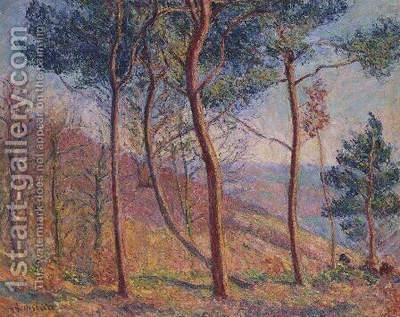 In the Mountains by Gustave Loiseau - Reproduction Oil Painting