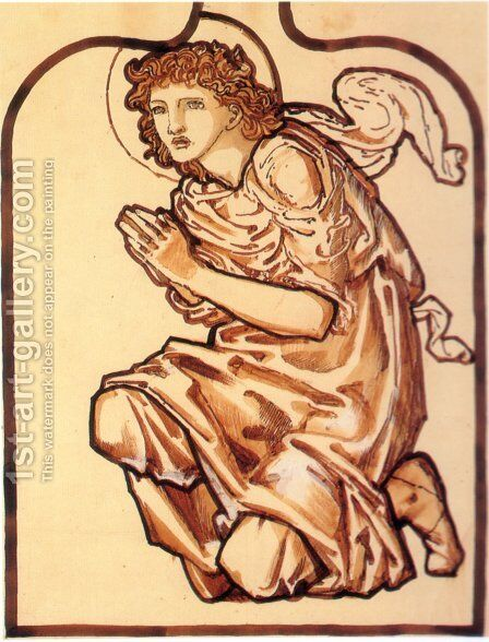 Daniel by Sir Edward Coley Burne-Jones - Reproduction Oil Painting