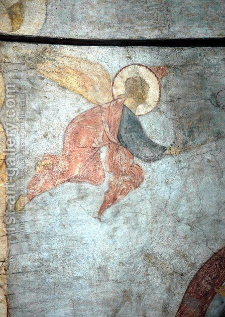 The Last Judgement Angel by Andrei Rublev - Reproduction Oil Painting