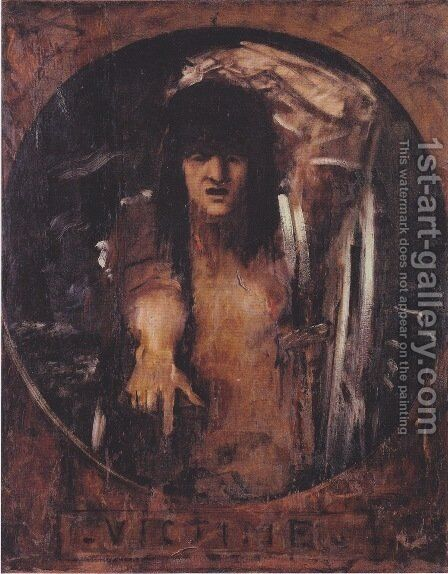 Victim by Gustave Moreau - Reproduction Oil Painting
