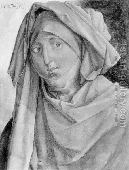 St. Anna by Albrecht Durer - Reproduction Oil Painting