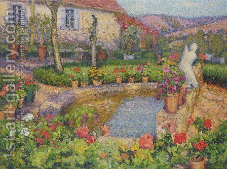 My House by Henri Martin - Reproduction Oil Painting