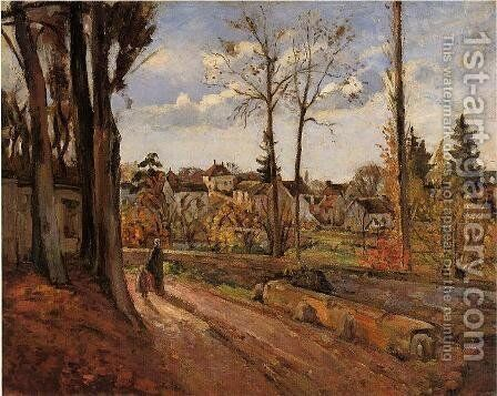 Louveciennes 3 by Camille Pissarro - Reproduction Oil Painting