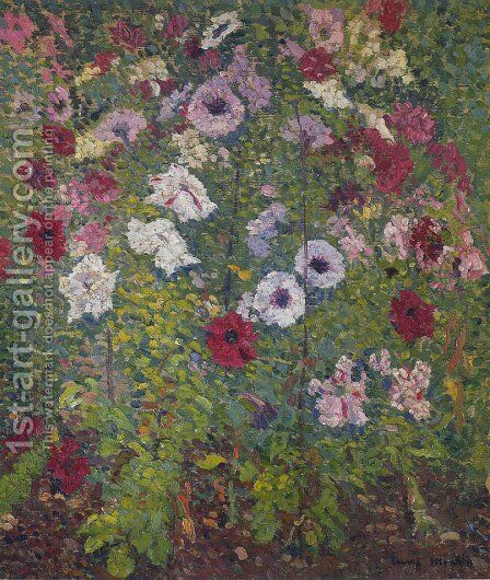 Bouquet of Flowers by Henri Martin - Reproduction Oil Painting