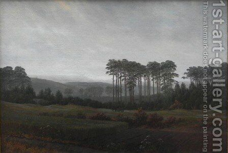 Afternoon by Caspar David Friedrich - Reproduction Oil Painting