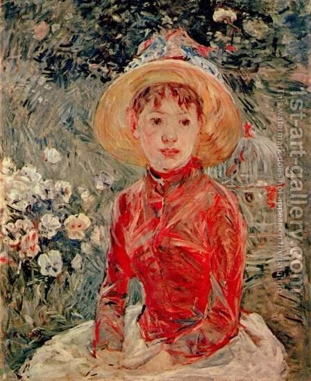 The red blouse by Berthe Morisot - Reproduction Oil Painting