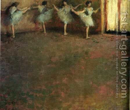 Unknown 6 by Edgar Degas - Reproduction Oil Painting