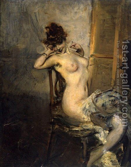 From Robilant and Voena by Giovanni Boldini - Reproduction Oil Painting