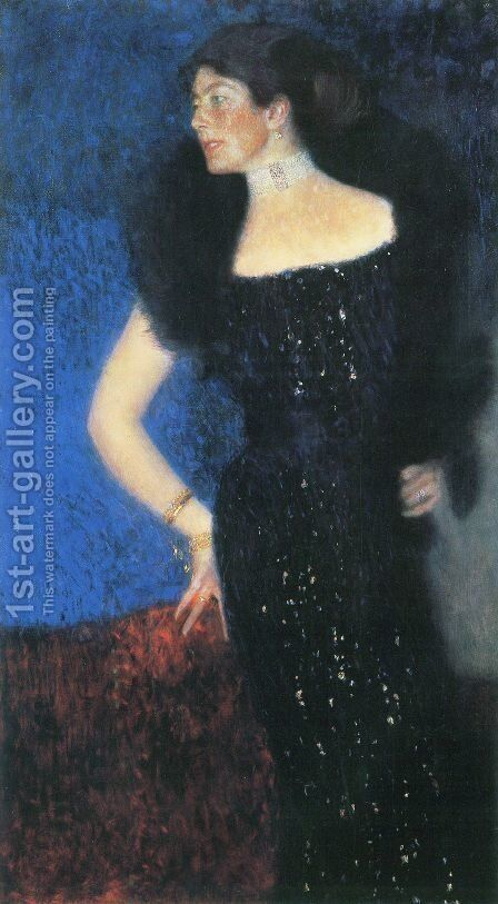 Portrait of Rose von Rosthorn-Friedmann by Gustav Klimt - Reproduction Oil Painting