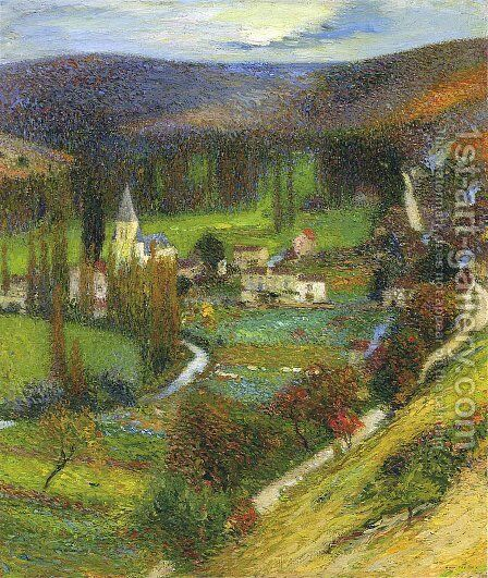 Labastide du Vert - Morning Effect by Henri Martin - Reproduction Oil Painting