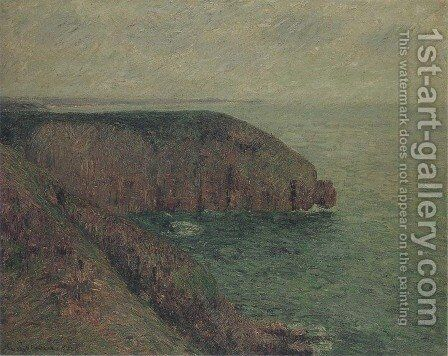 Cliffs at Fecamp by Gustave Loiseau - Reproduction Oil Painting
