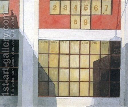 Business by Charles Demuth - Reproduction Oil Painting