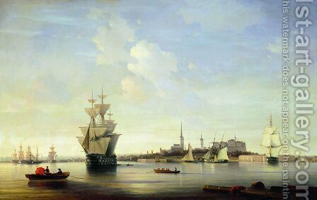 Reval by Ivan Konstantinovich Aivazovsky - Reproduction Oil Painting