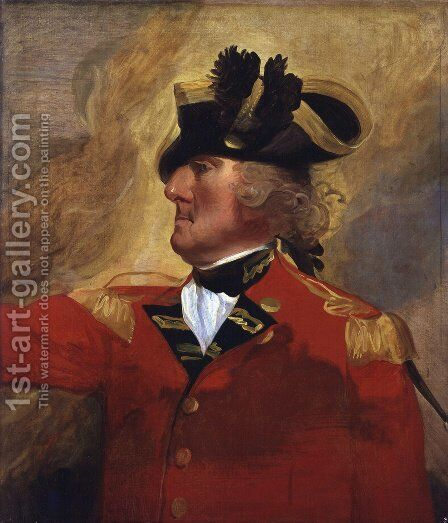 George Augustus Eliott, 1st Baron Heathfield by John Singleton Copley - Reproduction Oil Painting