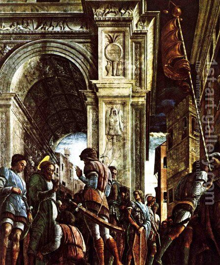 St. Jacques leads to martyrdom by Andrea Mantegna - Reproduction Oil Painting